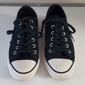 Navy Converse sneakers